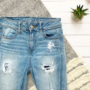 American Eagle Outfitters Hi Rise Crop Jeggings